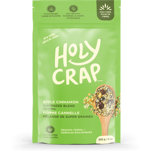Holy Crap Organic Apple Cinnamon Superseed Blend Orig Cereal