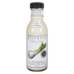 Briannas Dressing Classic Buttermilk Ranch