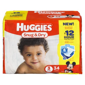 Huggies Snug & Dry Step 3