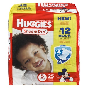 Huggies Jumbo Snug Step 5