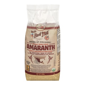 Bobs Red Mill Organic Whole Grain Amaranth