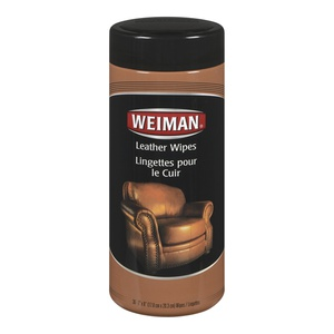 Weiman Wipes Leather