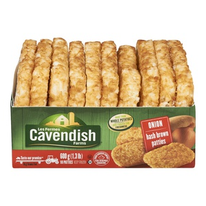 Cavendish Onion Hash Brown Patties