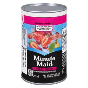 Minute Maid Punch Berry