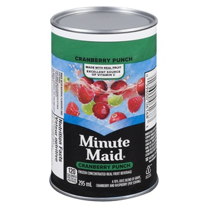 Minute Maid Punch Cranberry