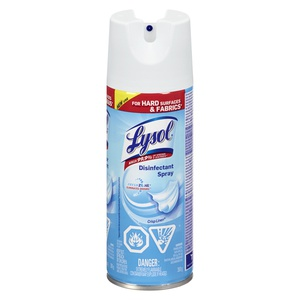 Lysol Spray Disinfectant Crisp Linen