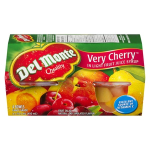 Del Monte Bowls Very Very Cherry