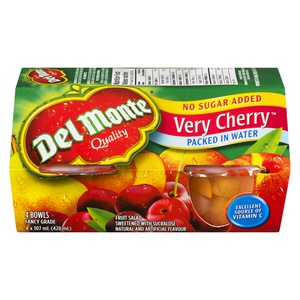 Del Monte Nsa Very Cherry in Water