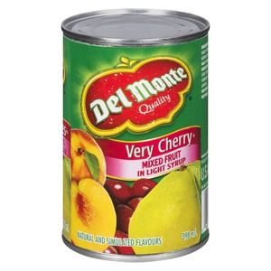 Del Monte Very Cherry Mixed Fruit in Light Syrup