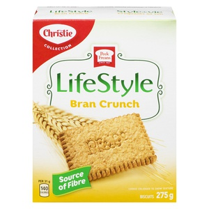 Christie Peek Freans Lifestyle Bran Crunch
