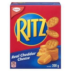 Christie Ritz Crackers Real Cheddar Cheese