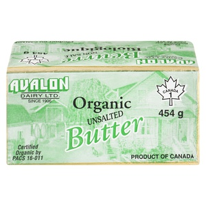 Avalon Organic Unsalted Butter