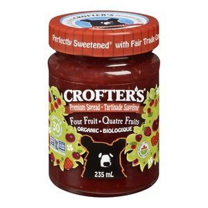 Crofters Organic Spread Four Fruit