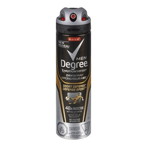 Degree Men Dry Spray Sport Defense