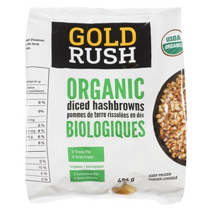 Gold Rush Organic Diced Hashbrowns