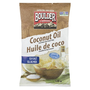 Boulder Canyon Coconut Oil Potato Chips Sea Salt