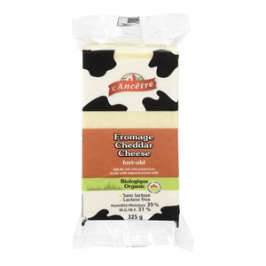 Lancetre Organic Cheddar Cheese Old