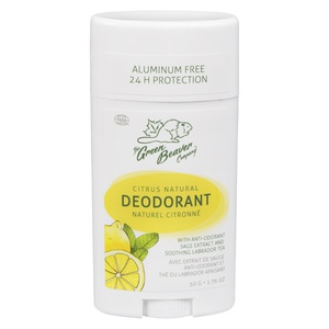 Green Beaver Co Natural Deodorant Citrus
