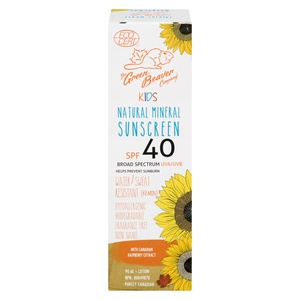 Green Beaver Co Kids Natural Sunscreen SPF 40