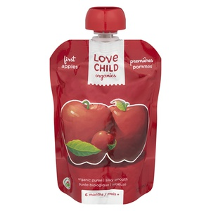 Love Child Organics First Apples Puree