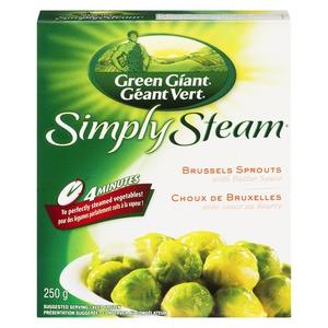 Green Giant Simply Steam Brussels Sprouts With Butter