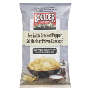 Boulder Canyon Sea Salt & Cracked Pepper Potato Chips