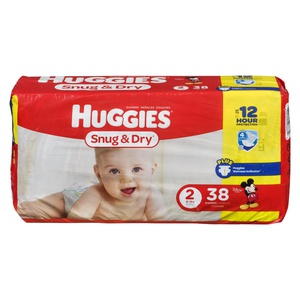 Huggies Jumbo Snug Step 2