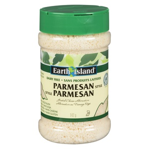 Earth Island Dairy Free Parmesan Style
