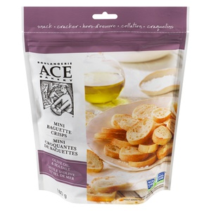 Ace Bakery Mini Baguette Crisps Olive Oil & Sea Salt