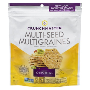Crunchmaster Multi-Seed Crackers Original